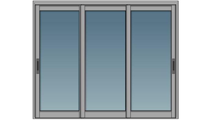 AutoCAD Aula 6.5: Desenhando a porta de correr do